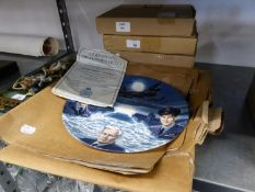 WWII AIRCRAFT COLLECTORS PLATES: ?The Dambusters-a tribute?, and four from ?The Battle of Britain
