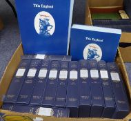 FOLIO SOCIETY. A HISTORY OF ENGLAND, 11 VOLUMES SET, (vol 1) Anglo Saxon England through to (vol 11)
