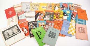 PENGUIN BOOKS- A collection of various Penguin related books to include Penguin Classified List 1958