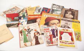 D H EVANS MAIL ORDER CATALOGUE, circa 1940s, an attractive publication. Women?s wear catalogue,
