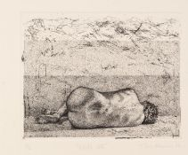 MICHAEL HARRISON (TWENTIETH CENTURY) TWO ARTIST SIGNED LIMITED EDITION ETCHINGS ?Nude V?, (20)02, (