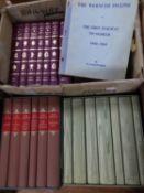 JANE AUSTEN WORKS, 7 vol box set, pub Folio Society. BRONTE COMPLETE NOVELS 7 vol box set, pub Folio