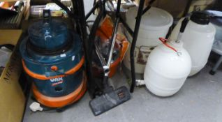 VAX 3 in 1 VAC BREWING BUCKET, TWO PRESSURE BARRELS AND A FITNESS SMALL TRAMOLINE