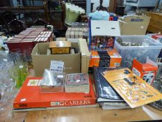 QUANTITY OF BOARD GAMES, TRIVIAL PERSUIT (BET YOU KNOW IT), AND MASTER GENIUS EDITION, BRIT QUIZ,