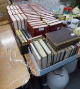 DENNIS WHEATLEY, WORKS OF 46 UNIFORM VOLUMES AND FOUR DENNIS WHEATLEY PAPERBACKS PLUS WORKS OF