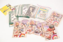 *SELECTION OF DIE CAST TOY RELATED CATALOGUES AND EPHEMERA, includes Britains farm related 1999,