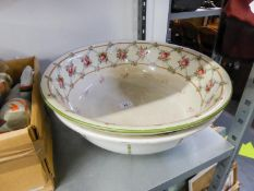 MINTO AND BRISTOL WARE POTTERY TOILET BOWLS (2)