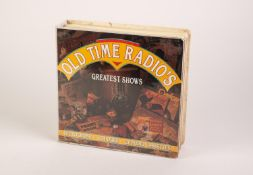 OLD TIME RADIO'S BOXED SET OF 20 AUDIO CASSETTES, five 30 listening hours of 60 programmes, produced