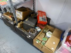 QUANTITY OF WOOD WORKING TOOLS TO INCLUDE; BLACK AND DECKER SIDE AND MITRE GUIDE, BOXED, STANLEY '