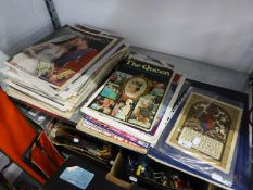 A COLLECTION OF ROYAL COMMEMORATIVE SUPPLEMENTS AND NEWSPAPERS, PRINCIPALLY FOR THE REIGN OF