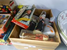 FIFTEEN SOUVENIR COSTUME DOLLS, MAINLY IN VISION BOXES INCLUDING; A 'SWEETHEART' DANCING DOLL AND