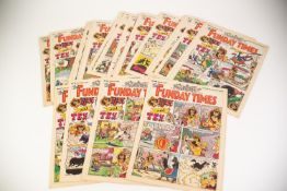 *THE FUNDAY TIMES CHILDRENS COMIC - SUPPLEMENT TO THE SUNDAY TIMES NEWSPAPER No. 51 August 26th