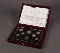 1996 ROYAL MINT LIMITED EDITION ?UNITED KINGDOM SEVEN COIN SILVER ANNIVERSARY COLLECTION?, No: