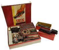 A pre-war Trix Express HO Gauge Goods Train 11/1 boxed set