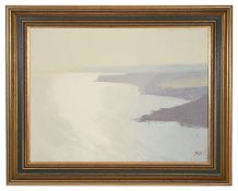 James Fry (Brit., 1911-1985) 'Morning coastal view', oil on board