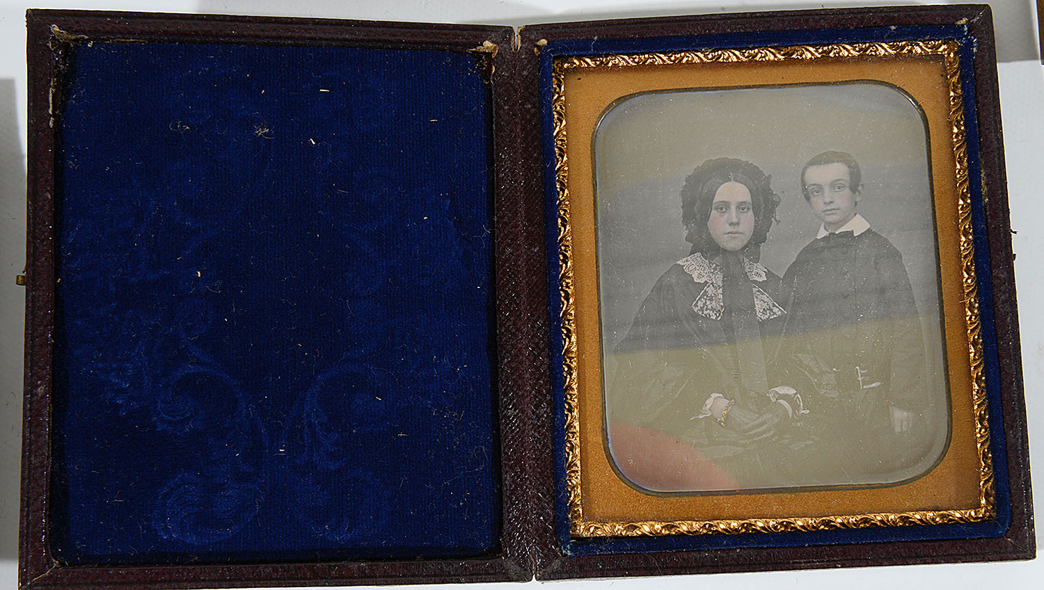 Lot 10 - Mid 19th c daguerreotype and ambrotype photographs, Cornwall c.1860