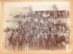 Two albums of albumen prints relating to the Boer War c. 1900