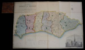William Figg. Map of the County of Sussex from an Actual Survey 1823