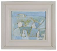 Padraig Macmiadhachain R.W.A (Irish, b.1929) 'Pale Atlantic Landscape' oil on canvas, signed
