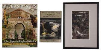 John Piper (Brit. 1903-92) English Scottish & Welsh Landscape 1700-c.1860; others