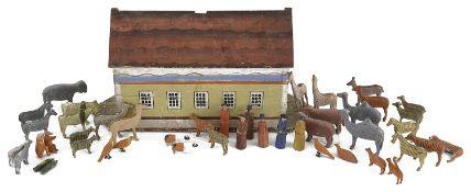 A mid-19th century German Noah's ark