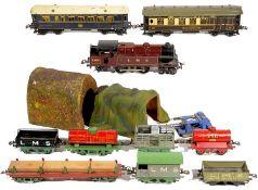 Hornby O gauge tinplate model railways
