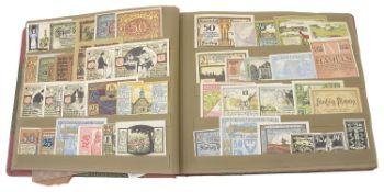A Joseph Lieban Notgeld Album 1914-1924