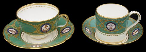 Royal Interest: Copelands and Mintons china from The Royal Yacht china services