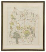 Edward Halstead., 'Map of the Hundred of Codsheath'