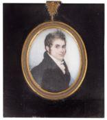 An early 19th century portrait miniature, English school