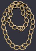 A Christian Dior gilt metal chain belt/necklace