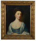 English School 18th century 'Portrait of a lady', bust length