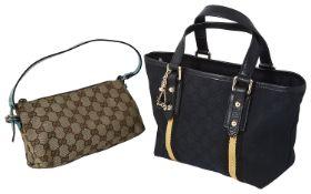 Two vintage Gucci handbags