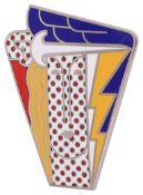 A Roy Lichtenstein 'Modern Head' brooch/pendant