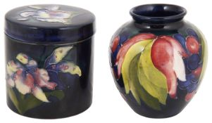 A William Moorcroft 'Leaves and grapes' vase