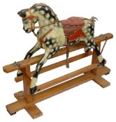 A child's rocking horse by Collinson c.1960