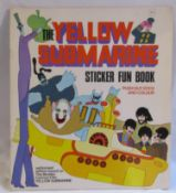 An original 1968 Beatles Yellow Submarine sticker fun book from World Distributors (Manchester) Ltd.