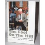 The Fool On The Hill book signed by Allan Williams
