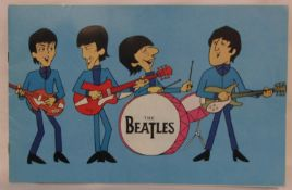 The Beatles 1965 UK tour programme with the Moody Blues which took place from 3rd to 12th December