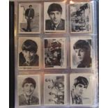 The Beatles complete set of AB&C chewing gum cards, No1-60 UK 1964