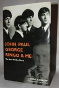 John Paul George Ringo & Me book by Tony Barrow, signed by Tony Barrow