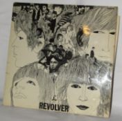 The Beatles Revolver album original Mono rare dash 1 matrix with withdrawn mix of Tomorrow Never