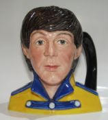 Paul McCartney Royal Doulton Mug UK 1984