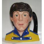 Paul McCartney Royal Doulton Mug UK 1984