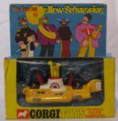 The Beatles Corgi Yellow Submarine Toy, complete with box UK 1968