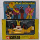 The Beatles Corgi Yellow Submarine Toy, complete with box UK 1968