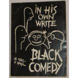 In His Own Write and Black Comedy performances at the Liverpool Playhouse between the 18th March and