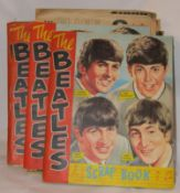 A collection of Eight Beatles NEMS Enterprise Scrapbooks, used 1964