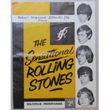 Programme for The Rolling Stones UK tour which ran from September 5th to October 11th 1964