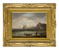 THOMAS LUNY (BRITISH, 1759–1837): East of Teignmouth